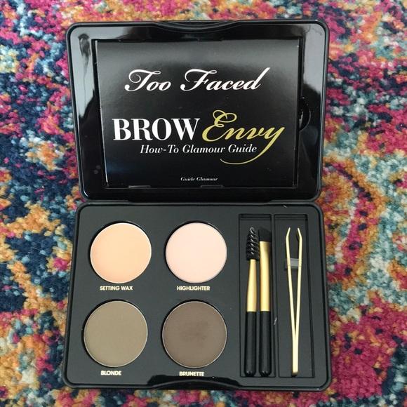 Too Faced Makeup Brow Envy Shaping Defining Kit Poshmark